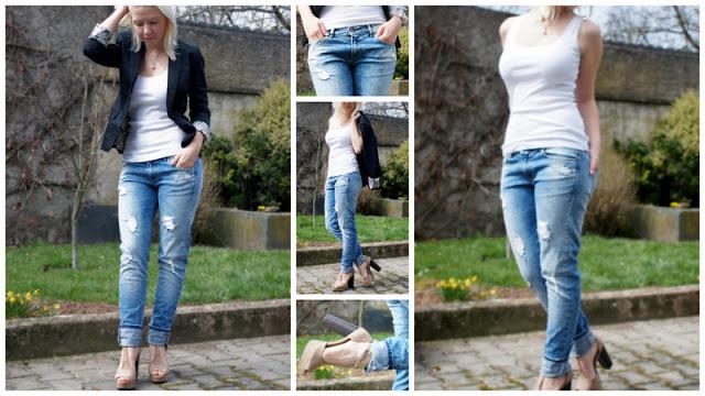 Meine neue Boyfriend-Jeans von ZARA