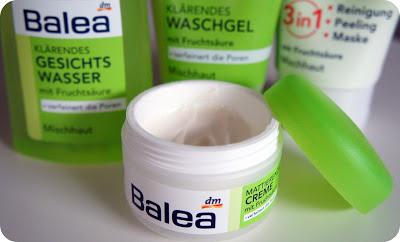 Balea Reinigungsserie für Mischhaut