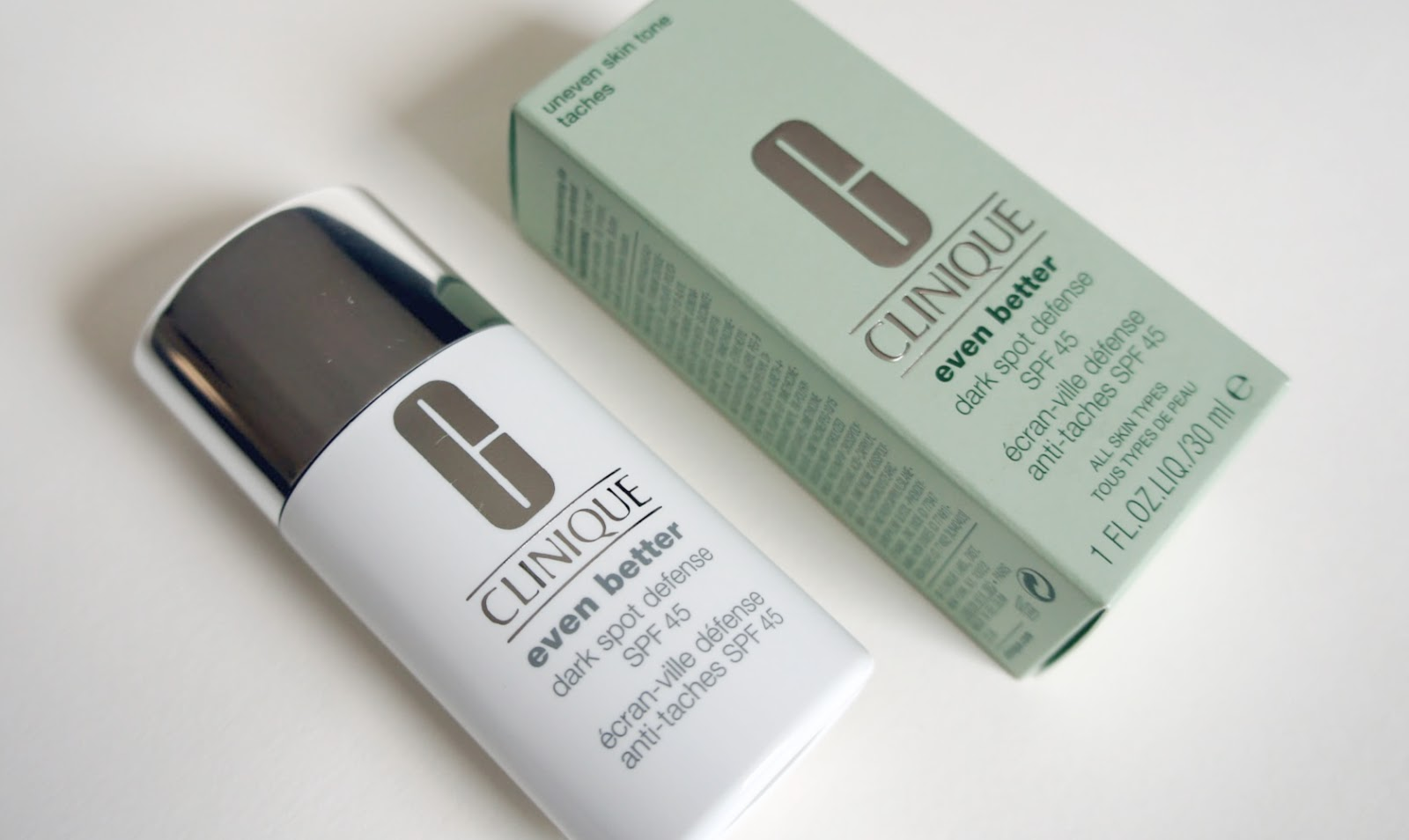 CLINQUE Even Better Sark Spot Defense SPF 45, Preis: ca. 23 €