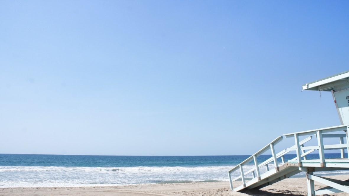 Strand aus OC California