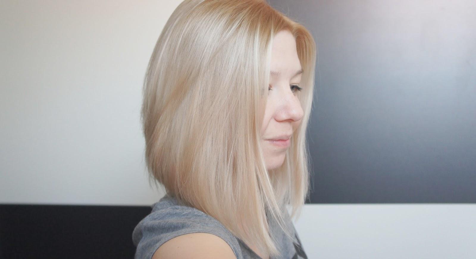 Neue Haarfarbe Beigeblond Zuckerblond De