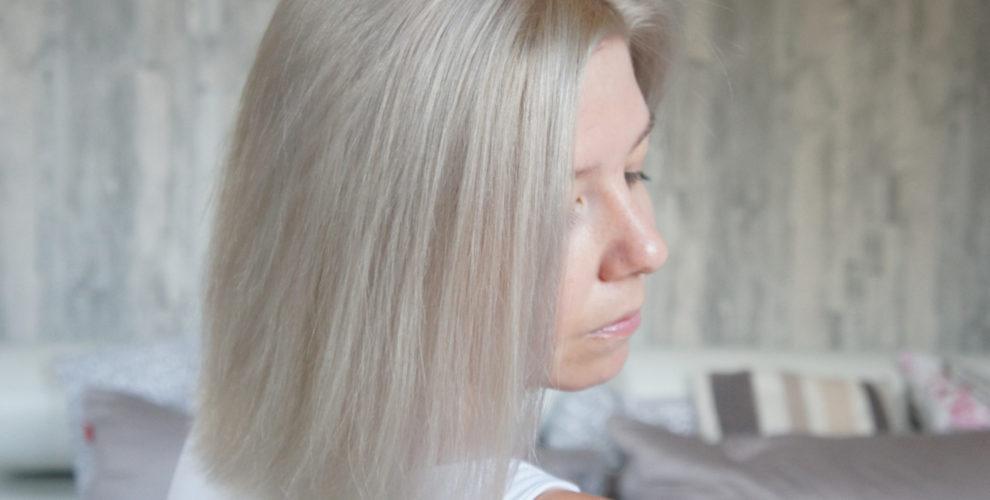 Meine Haare Sind Aschblond Dank Loreal Dialight Zuckerblondde