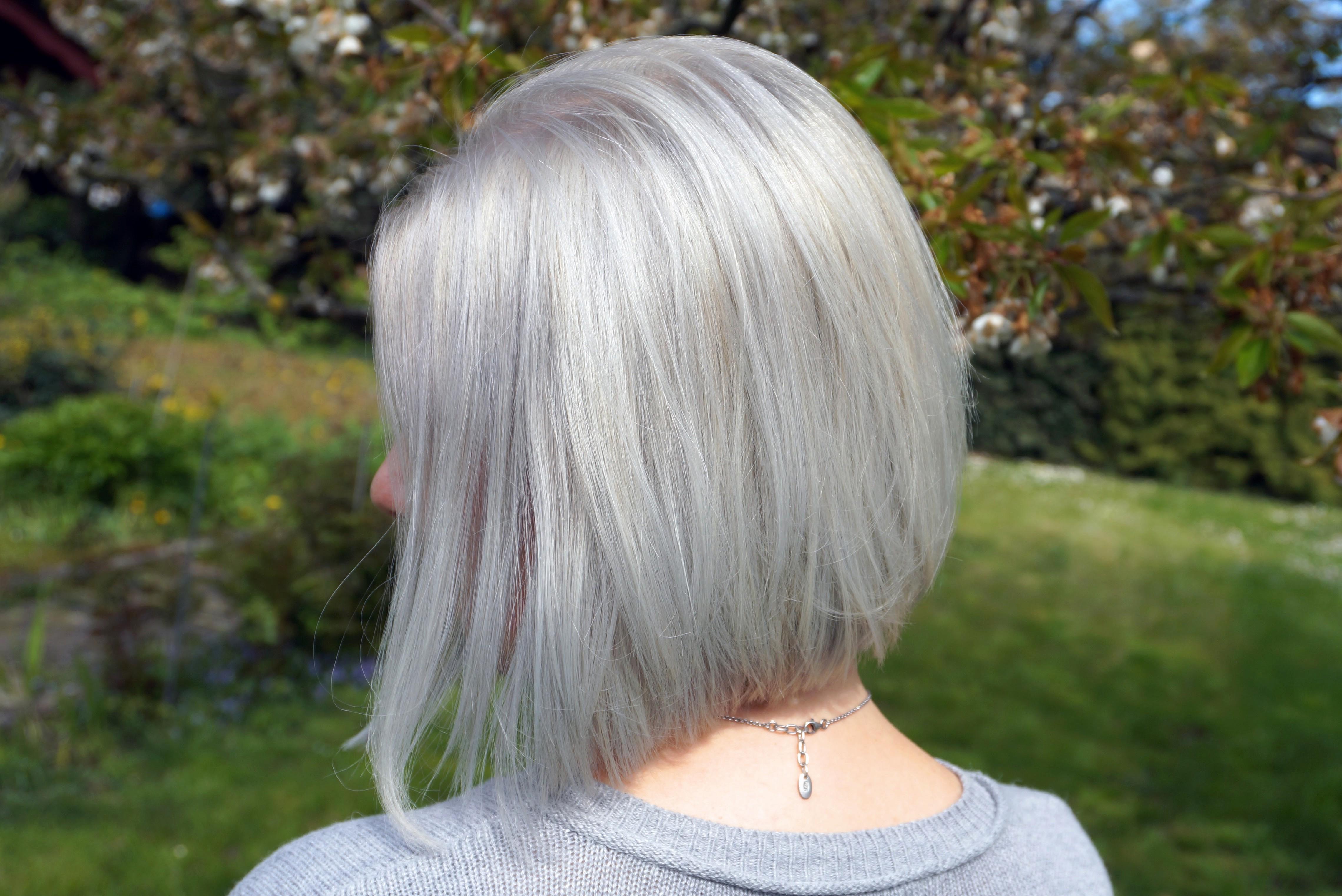 Graue Haare. Silberblond. - zuckerblond.de