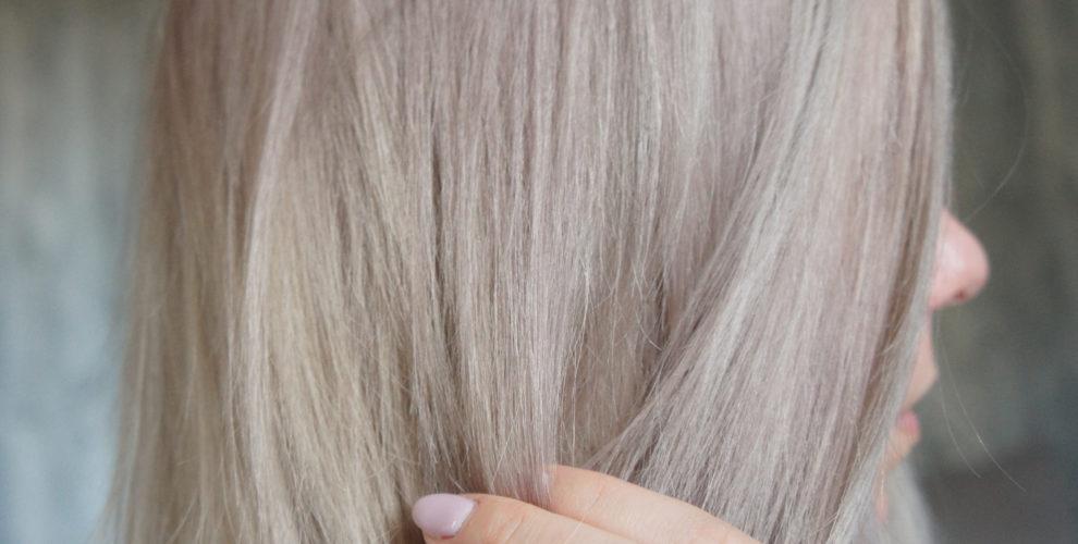 Aschblond färben haare graue HILFE! Graue